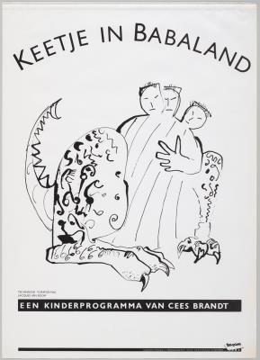 B1983-011.jpg; B1983-011; Keetje in Babaland; affiche
