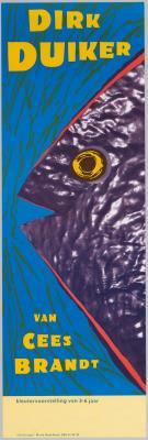 J1990-006.jpg; J1990-006; Dirk Duiker : Cees Brandt; affiche