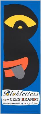 J1992-024.jpg; J1992-024; Blokletters; affiche