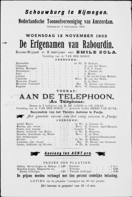 PB0002045_0406.jpg; pb0002045; Aan de telephoon (Au Téléphone);