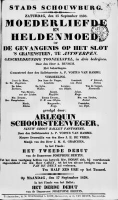 PB0007722_0162.jpg; pb0007722; Moederliefde en heldenmoed, of de gevangenis op het slot 's Gravensteen te Antwerpen;
