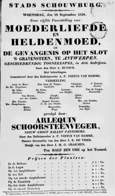 PB0007725_0165.jpg; pb0007725; Moederliefde en heldenmoed, of de gevangenis op het slot 's Gravensteen te Antwerpen;