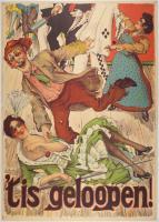 R1917-003_03.jpg; R1917-003; 't is geloopen!; affiche
