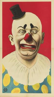 TEY0010002686.jpg; TEY0010002686; Clown; affiche